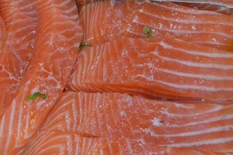 Солим красную рыбу вкусно и быстро