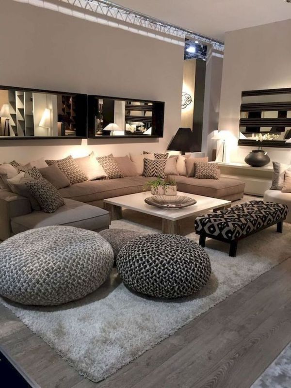 Fascinating Living Room With Carpet Decorating Ideas 14 Homyhomee Classy Living Room Living Room Decor Apartment Elegant Living Room Elegant carpet for living room
