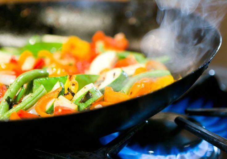 Fritar ou saltear legumes em azeite virgem extra, não é tão mau como pensamos!