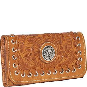 ladies leather wallets - eBags.com