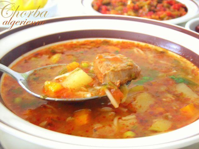chorba algerienne aux legumes