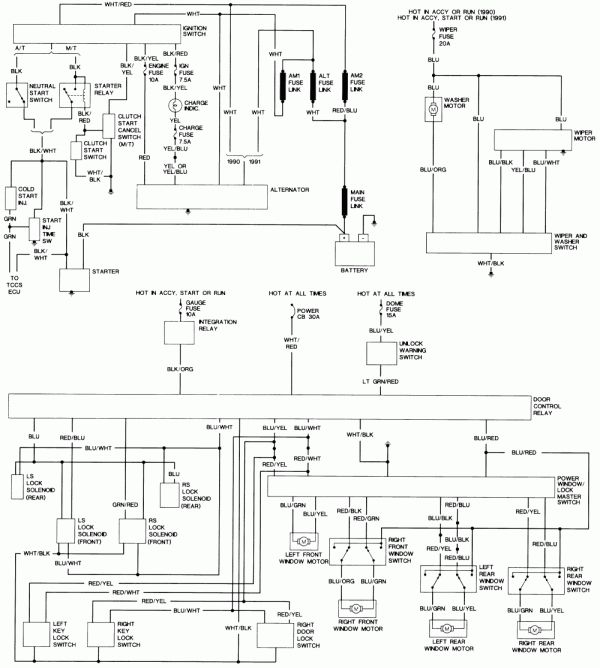 1992 Toyota Corolla Electrical Wiring Diagram And Toyota Hilux Wiring Diagram Hotrod Electrical Electrical Wiring Diagram Toyota Hilux Electrical Diagram
