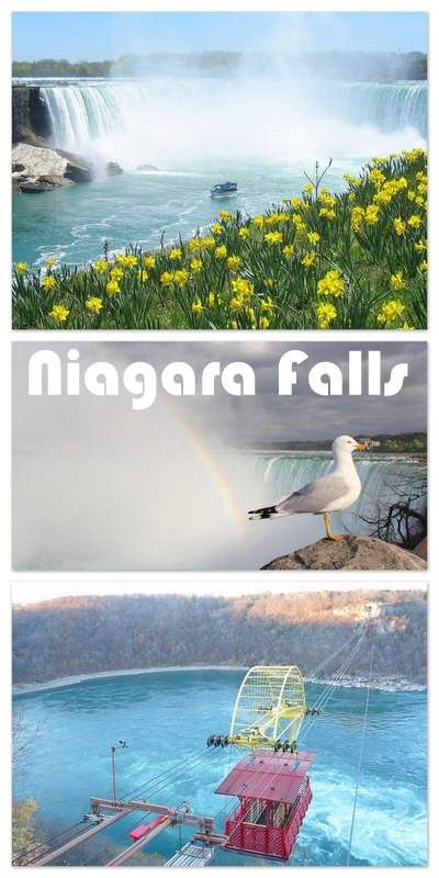 Niagara Falls are some of the largest, most beautiful, and most famous waterfalls in the world. This is definitely a must see attraction. My Niagara Falls Hotel Tip: Skyline Inn from $45 only and two minute walk to the Niagara Falls. The hotel comes with many great reviews from happy and satisfied travelers - it´s just newly renovated and now features a new climate controlled indoor skywalk to the only 3 acre Fallsview Indoor Waterpark in Niagara Falls! Click to have a look {affiliate link}