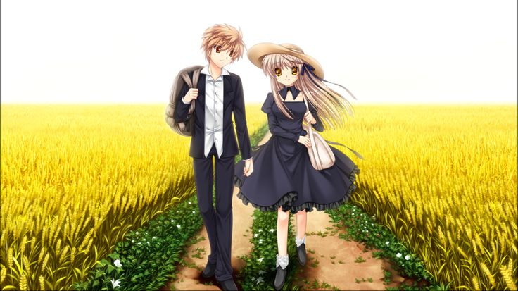 the Two who exiled from Paradise _ Rewrite Akane ending