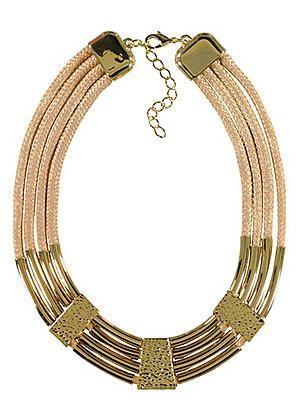 Multirow Rope Necklace #kaleidoscope #summer #fashion