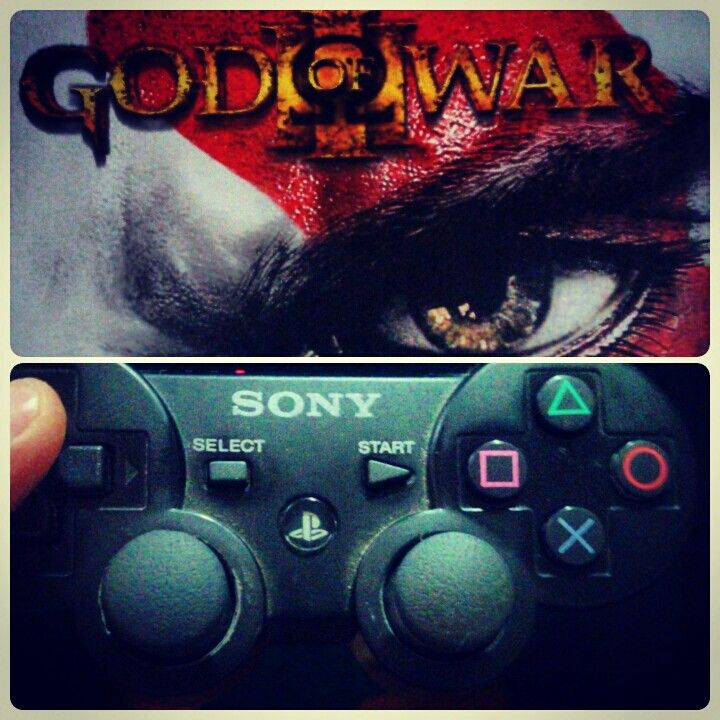 Playstation keyfi, god of war