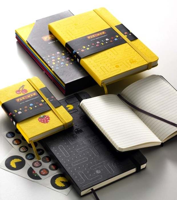 Moleskine + Pac-Man 30th Anniversary collection: Inspiration by Karen Horton - design:related