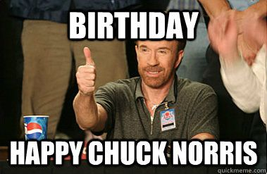 birthday happy chuck norris