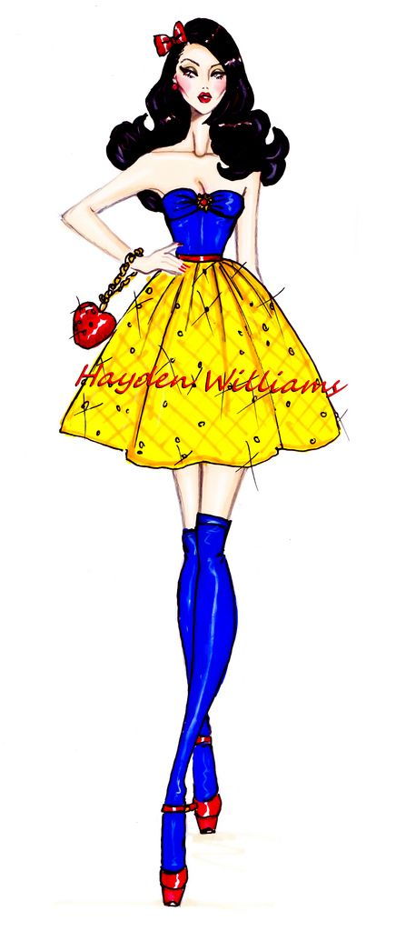 The Disney Diva's collection by Hayden Williams: Snow White