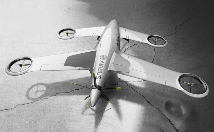 Okay kids, move aside. The Big Player's here to show off skills. Airbus' conceptual Thunderbird Drone means serious business. It isn't meant for you to spy