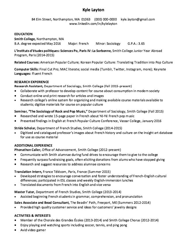 Medical Interpreter Resume Probate Paralegal Resume Sample  Httpresumesdesignprobate
