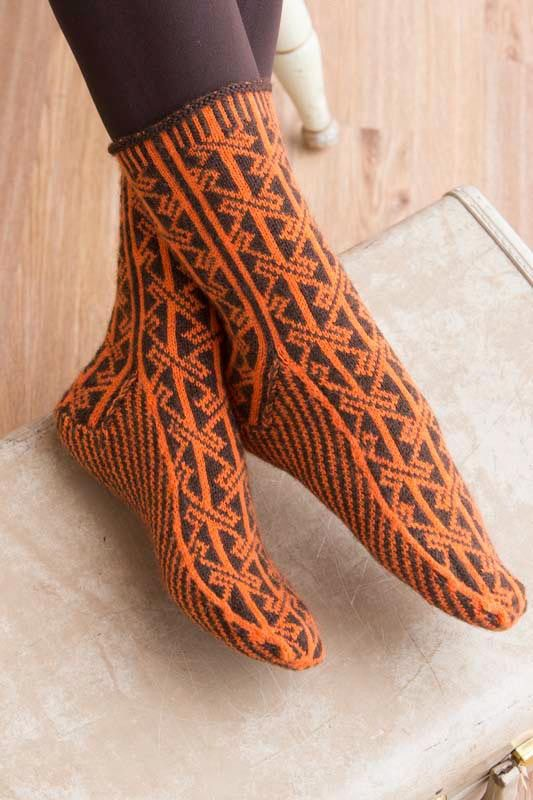 Custom Socks: Knit to Fit Your Feet by Kate Atherley | InterweaveStore.com