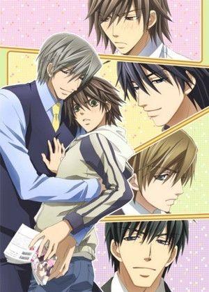 Junjou Romantica. Siiighhh...love me some yaoi.