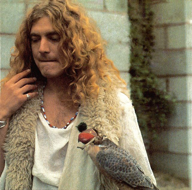 """myledzeppelin: """" Robert Plant behind the scenes of The Song Remains the Same, 1973. """""""