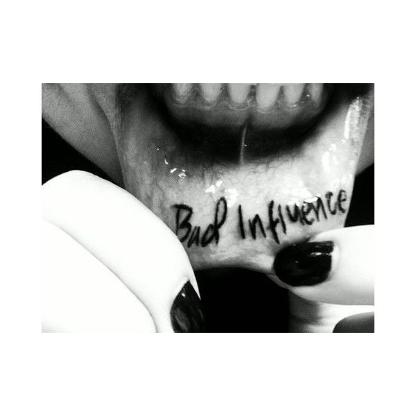 59 Painfully Cool Inner Lip Tattoos ❤ liked on Polyvore featuring accessories and body art