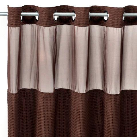 42 best Brown Shower Curtain images on Pinterest   Bathroom ideas ...