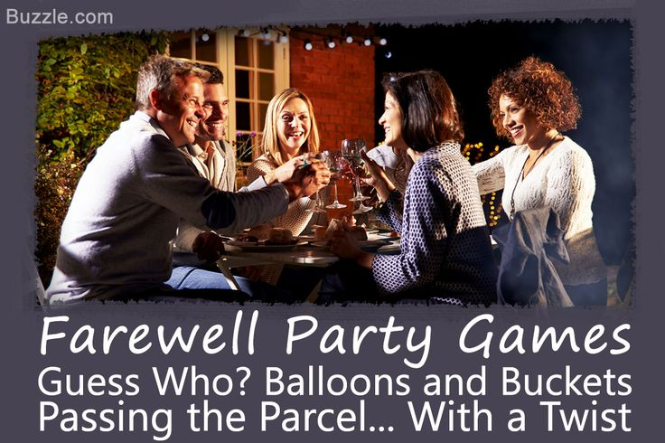 Funfilled Going Away Party Games to Make Merry Memories
