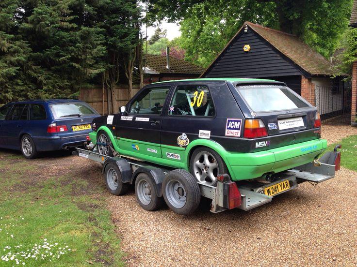 Golf 16v GTI Race car