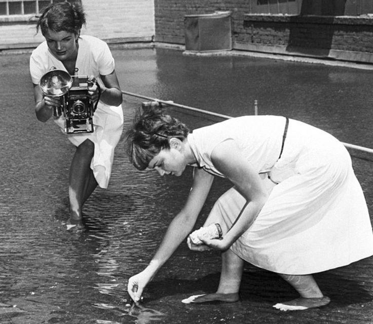 Jacqueline Lee Bouvier Kennedy Onassis, Pierwsza Dama Stanów Zjednoczonych Ameryki od 1961 do 1963 r. i jedna z największych ikon mod...
