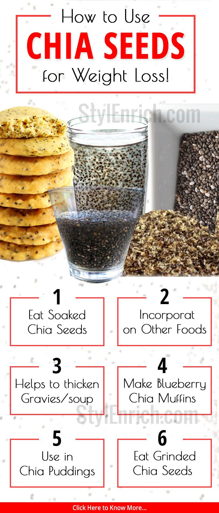 #ChiaSeeds are miraculous #WeightLoss hypes and it is important that you include...