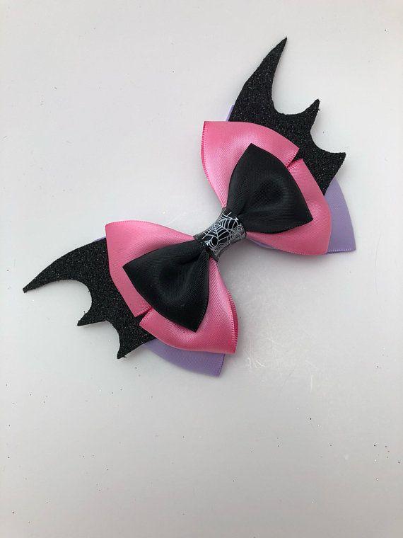 Handmade Girls Vampirina Hair Bow Bobbles Sold In Pairs