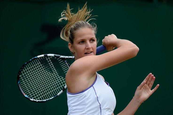 2015 Wimbledon: Round 2 - [26] Svetlana Kuznetsova (Rus) vs. Kristyna Pliskova (Cze). Match highlights. Location: All England Lawn Tennis & Croquet Club, London, England.