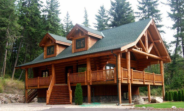 Best 25 Log Home Builders Ideas On Pinterest Log Cabin