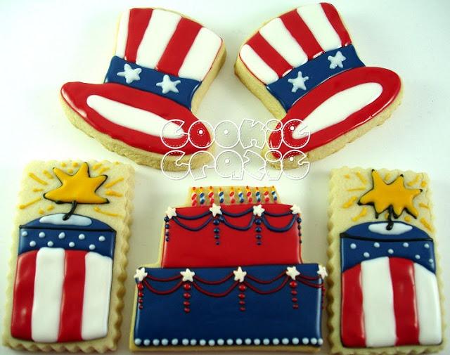 CookieCrazie: Happy Birthday America!!!!