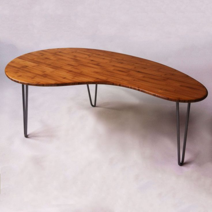 Mid Century Modern Coffee Table Kidney Bean Shaped Atomic: 26 Best Reclaimed Wood Restaurant Table Tops Images On