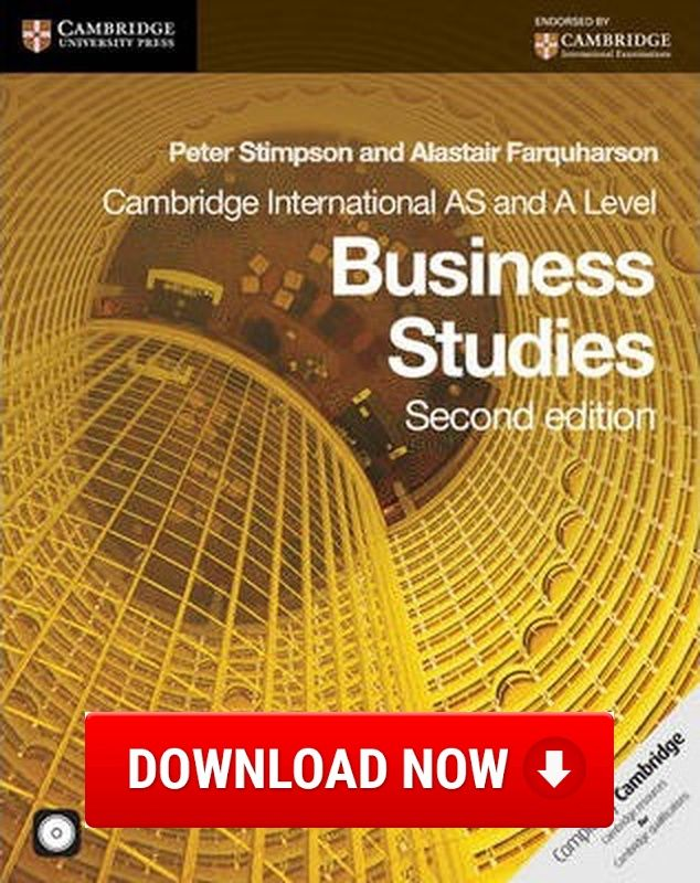 Cambridge International AS and A Level Business Studies Coursebook with CD-ROM Download (Read online) pdf eBook for free (.epub.doc.txt.mobi.fb2.ios.rtf.java.lit.rb.lrf.DjVu)