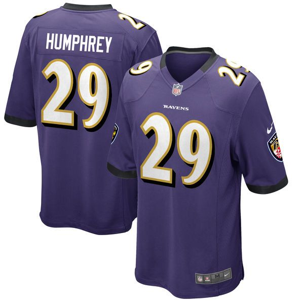 ... Marlon Humphrey Baltimore Ravens Nike 2017 Draft Pick Game Jersey -  Purple - 99.99 ... bd65a9742