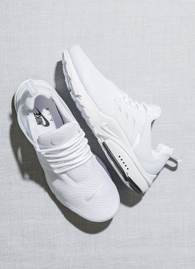 Nike Air Presto: White http://feedproxy.google.com/fashiongoshoes1