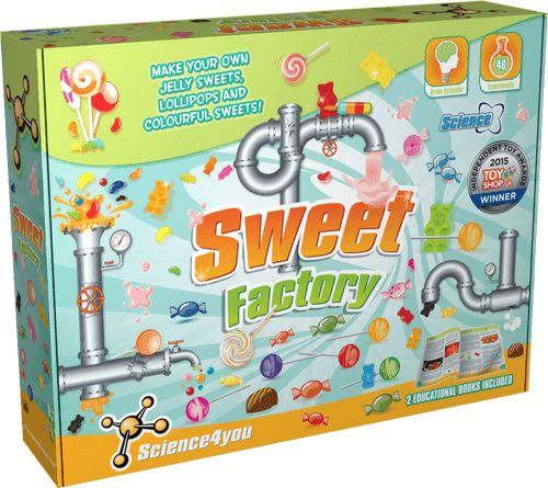 Sweet Factory Science Kit front side