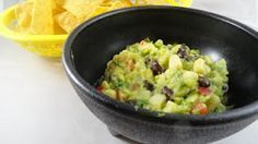 California Pizza Kitchen - White corn Guacamole......this is THE BEST GUAC EVER and im making it tonight!