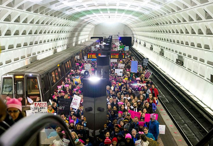 Washington, DC | 32 Of The Most Powerful Photos Of Women's Marches Around The World
