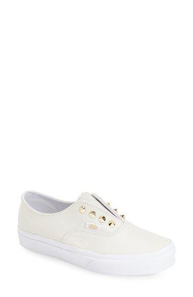Vans 'Authentic' Studded Slip-On Sneaker (Women)