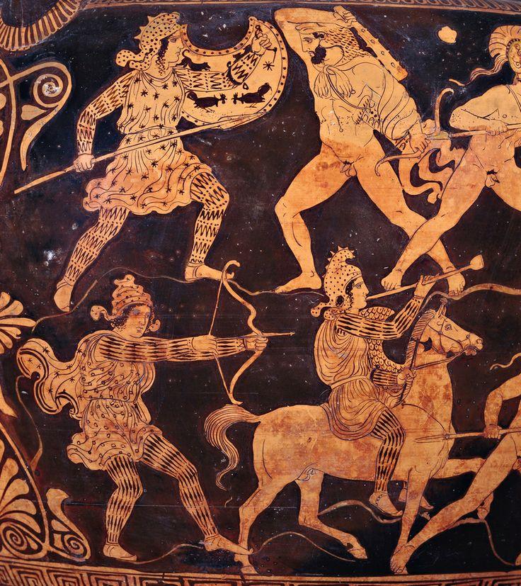 древнегреческие рисунки на стенах запросу обивка салона