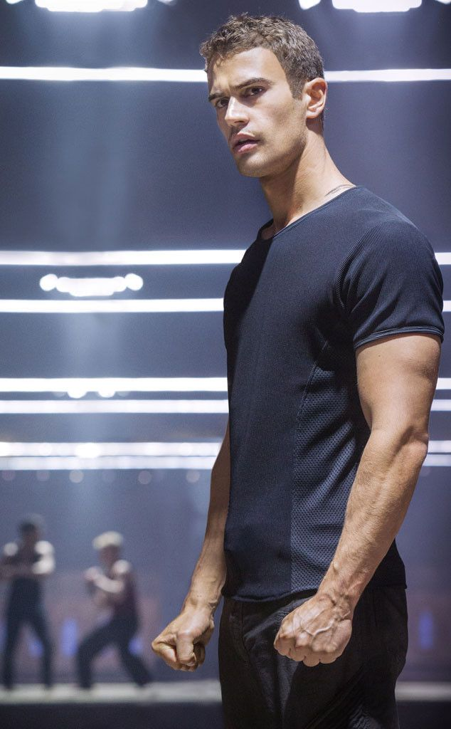 Theo James from Divergent Movie Photos   E! Online