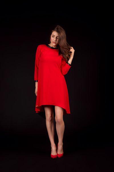 sukienka PUMPKIN BLOOD w NG - Natalia Gorzołka  na DaWanda.com
