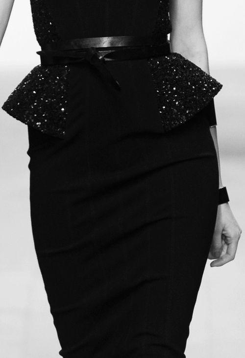 black peplum skirt ✤ | Keep the Glamour | BeStayBeautiful