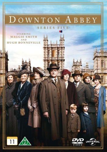Downton Abbey - Kausi 5 (3 disc) (DVD)