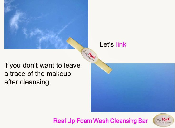 Real Up(리얼업): Real Up : Real up foam wash cleansing bar Print AD...