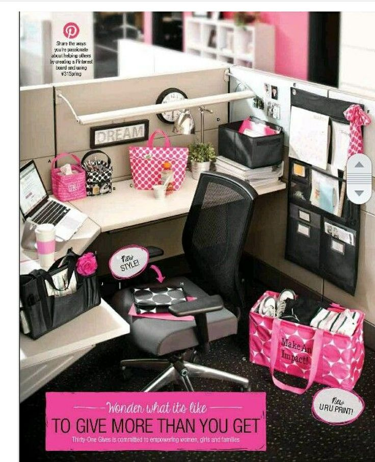 99 Best Images About DIY Chic Office Cubicle Crafts/Decor