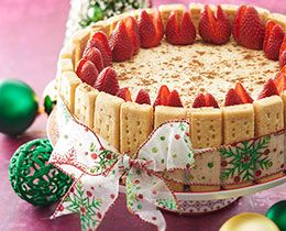 Christmas is just around the corner, and what better way to celebrate then with a delicious baked eggnog with PHILLY cheesecake.