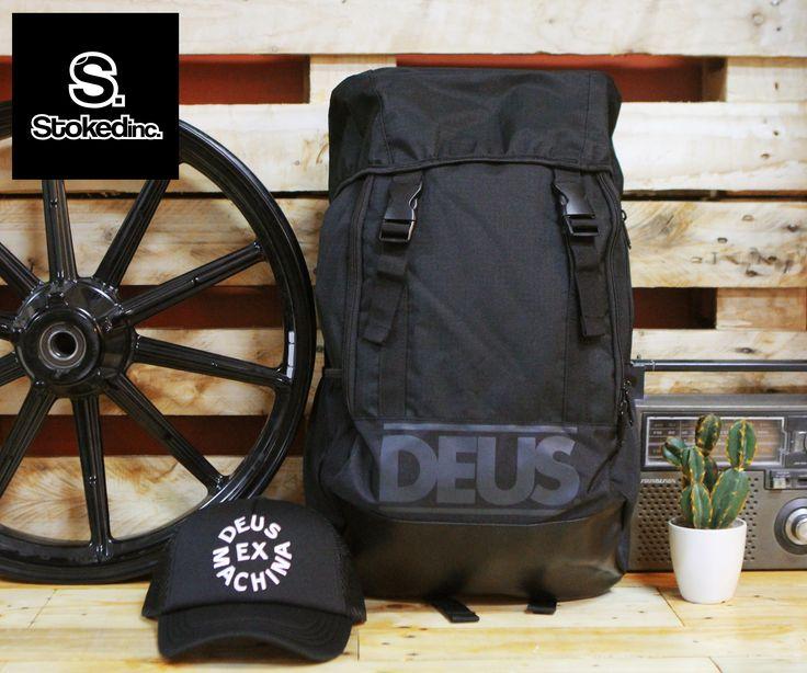 Deus Cross Rusksack Available at Stokedinc Pioneer, Stokedinc High Street and Stokedinc. Rockwell