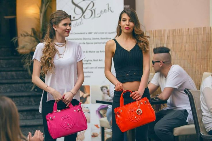 Laura & Federica with handbag Armani Jeans forse Ambro's Fashion Party