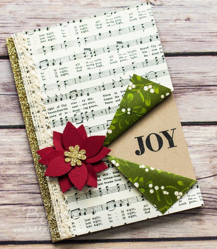 Musical Joy Christmas Card featuring products from Stampin' Up! UK. Get them…