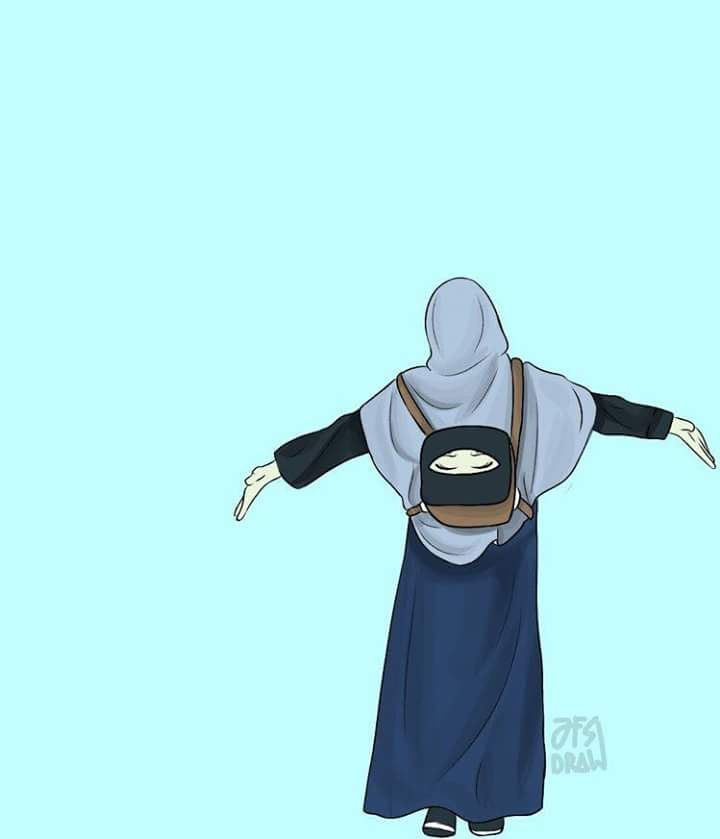 Discovered By Zephyranth Find Images And Videos About Text And Hijab On We Heart It The App To Get Lost In What Y Hijab Cartoon Islamic Cartoon Anime Muslim