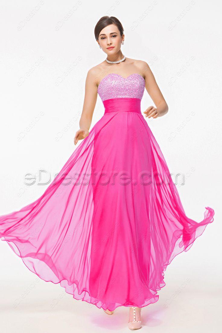23 best maid of honor dresses edresstore images on pinterest hot pink maid of honor dresses sweetheart beaded bridesmaid dresses ombrellifo Gallery