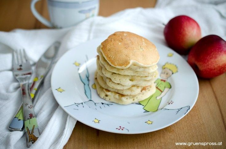 pancakes BLW vegan